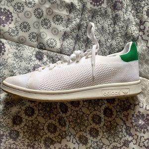Adidas Stan Smith originals, knit sneakers